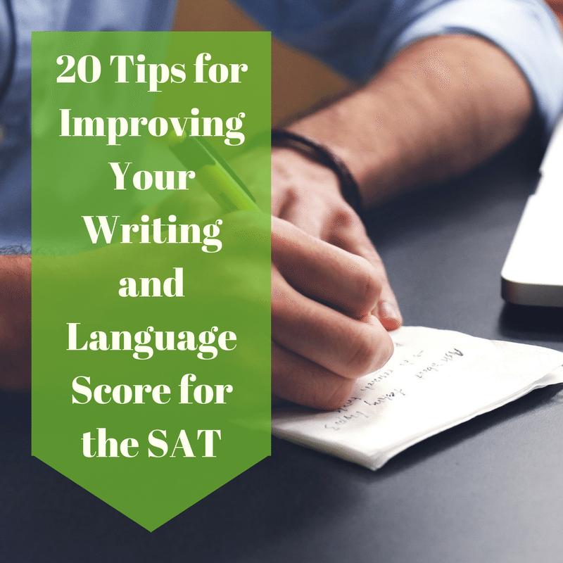 Does the essay improve your sat score